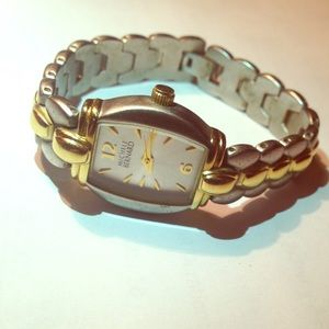 Vintage Dress Watch- Two Tone- Michele Bernard